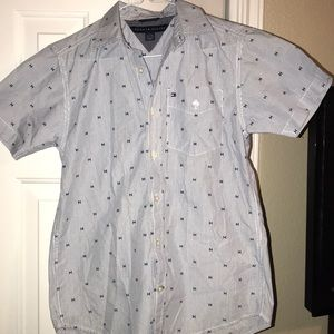 Boys Tommy button up shirt